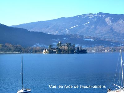 Photo for TALLOIRES Apartment 3 stars / 50 m² / facing the lake / 4 people