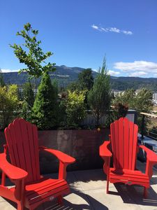 Photo for Unique and historic loft in downtown Hood River. River and mountain views!
