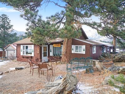 Photo for Bear Pause - Walking distance to downtown Estes Park - Views of the historic Stanley Hotel