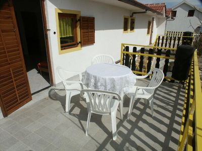 Photo for Two bedroom apartment with terrace Vir (A-291-d)