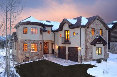 Spectacular Mountain Home On The River Course and Cross Country Ski Course