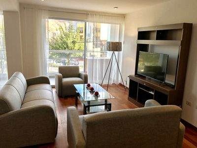 Photo for El Triunfo Aparts , 145m2 beautiful apartment in front of park.