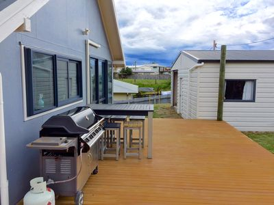 Photo for Quiet beach house in the heart of Mahia