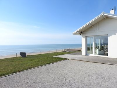 Photo for In FRONT VILLA SEA, overlooking the islands Chausey near GRANVILLE ...