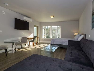 Photo for SoLo Suites - Short and Long-Term Rentals - New Modern 1BR Family Suite - Parking and A/C