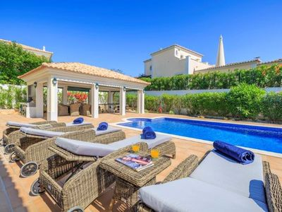 Photo for 5 bedroom Villa, sleeps 10 in Ferrarias with Pool, Air Con and WiFi
