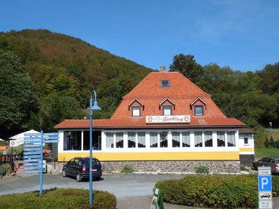 Photo for Apartment in Hotel Seeblick Edersee, Am See, pets on request