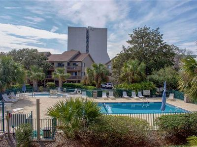 Photo for Hilton Head Vacation Rental steps away from the beach!