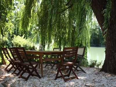 Photo for Stunning Maison Bourgeoise on the banks of the Charente, canoe from the door