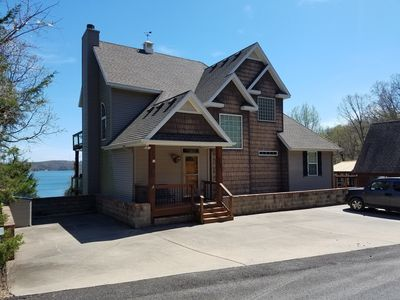 Photo for CAMP ROBERT'S LAKEFRONT  HOME - SPACIOUS 7 BEDROOMS  & 4 BATHS