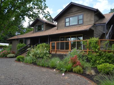 Photo for country casual home near Newberg, gateway to Willamette Valley wine country