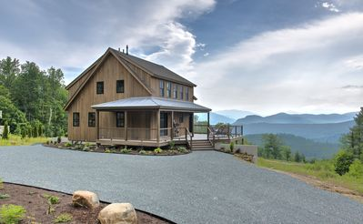 Sweeping Views, Eco Friendly Modern House with Luxury Finishes