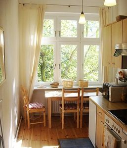 Photo for Open-plan apartment in classic building close to river