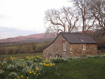 Photo for Stunning sea and mountain views near Cwm yr Eglws.  Perfect  for a winter break