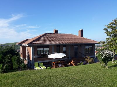 Photo for Country house with magnificent sea views near beaches. G-12029