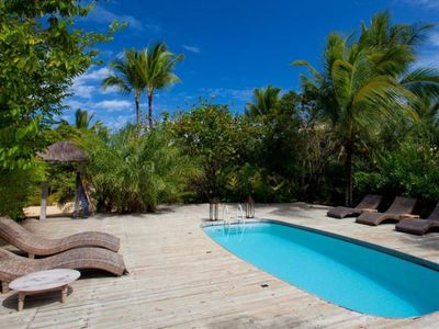 Photo for Charming Sea Front Villa 5 Suites and Pool.