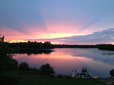 Photo for 9BR Lodge Vacation Rental in Winchester, Vilas County, Wisconsin
