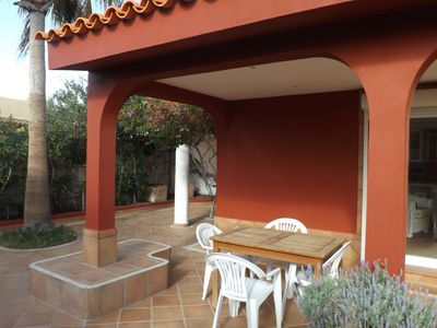 Photo for Comfort, luxury, garden, terrace and sea and mountain views solarium