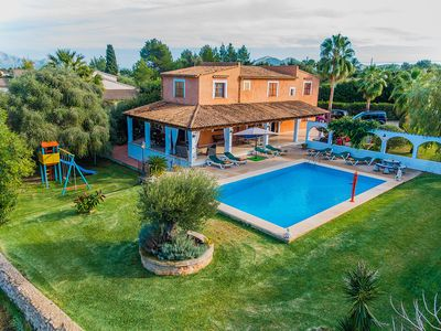 Photo for Villa With Private Pool And Large Covered Terrace With Gorgeous Gardens