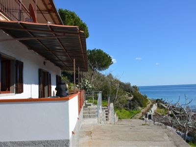 Photo for Amazing sea views just steps from one of the most beautiful beaches on Elba Island