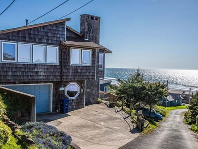 Photo for Roads End Ocean View Home with Hot Tub-Two Full Kitchens
