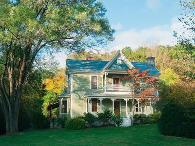 Photo for Victorian Farmhouse and Cottage, minutes from downtown  Asheville!