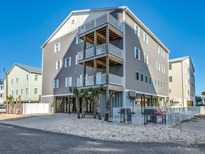 Photo for SUMMER SPECIALS!! 50 FT TO BEACH, GAME ROOM, MEDIA ROOM, PRIVATE POOLA ROOMS