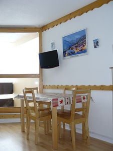 Photo for Studio cabin full South facing Mount of the Mass, direct access to the slopes