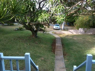 View from front door lanai.