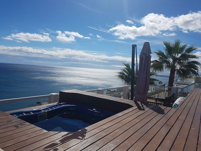 Photo for YACUZZI AND SWIMMING POOL CLIMATIZADOS FONTALES TO THE PRIVATE SEA VIEWS UNBEATABLE