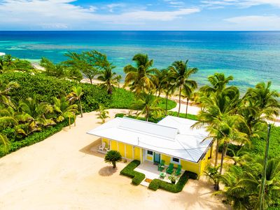 Photo for Cool Change: Cozy Rum Point Cottage on Wide Sandy Beach w/ Awesome Snorkeling!