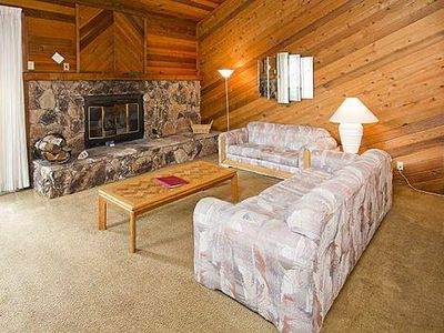 Photo for Inviting condo, free shuttle route, shared hot tub, pool- good for groups