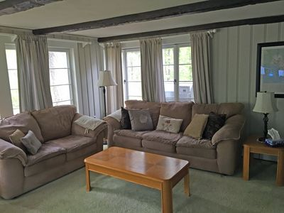 Over-sized family room