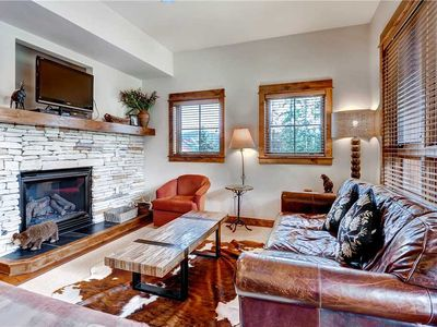 Photo for Nestled in the Pines with Outdoor Pool and Hot Tubs with ski-in/ski-out access