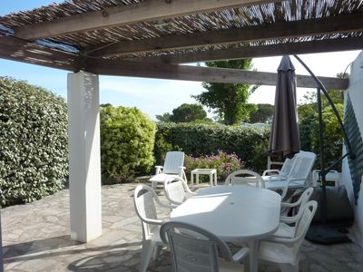 Photo for 2 bedroom house for 4-6 people, beach 100m, WIFI internet, quiet