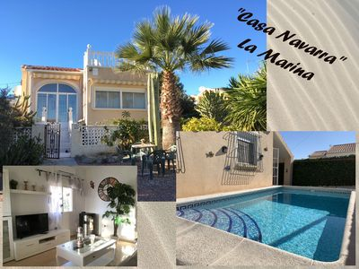 Photo for Holiday on the Costa Blanca - Detached house with its own private pool