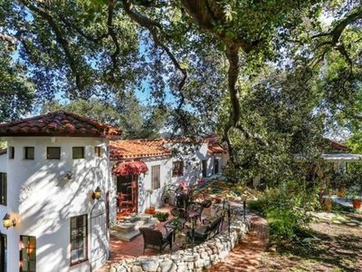 Photo for Fabulous Spanish revival sanctuary in the trees