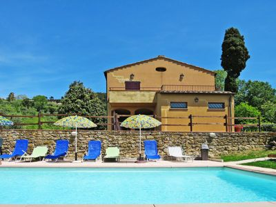 Photo for 5 bedroom Villa, sleeps 9 in Volterra with Pool and WiFi