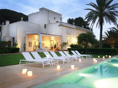 Photo for Luxurious Villa, 6 bedrooms with pool in the heart of Salento, Puglia