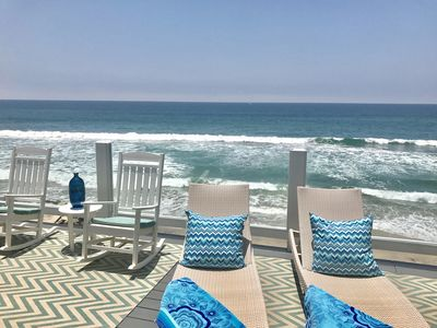 Photo for FUN and BEAUTIFUL, FAMILY BEACHFRONT RENTAL, On the Sand,  A/C, Private Bea