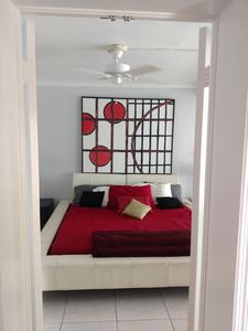 Photo for The Bamboo House-Newly renovated, private 1/1 Apartment just blocks from beach.