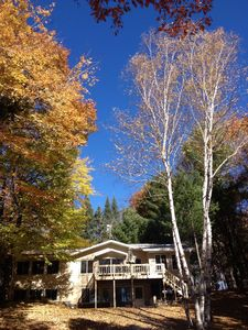 Lovely lakefront home all year round. Welcome to the beauty of the north woods!