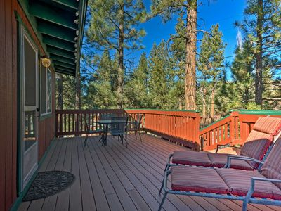 Photo for Peaceful Tree-Top Cabin In Heart of Big Bear City!