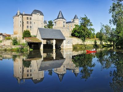 Photo for Step back in time,beautiful restored village property in the centre of Verteuil.