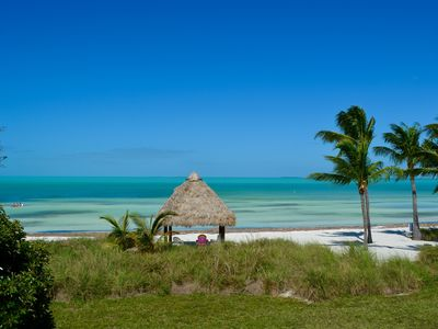 Photo for Sandy Beach in Your Backyard + Best View in The Keys, Period. No Storm Damage!