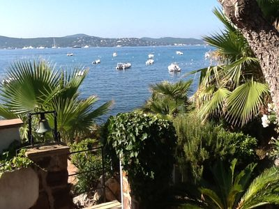 Photo for WATERFRONT VILLA FACING ST TROPEZ