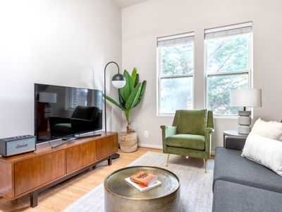 Photo for Lux Dupont Circle 1BR nr. U Street, Metro & Glen's Mkt, by Blueground