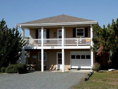 Photo for Great ocean views, wrap around porch, easy walking distance to beach!