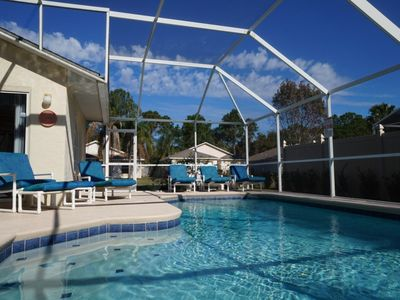 Photo for Windwood Cay Villa with Private Pool and Lanai, Just 15 Minutes from Theme Parks