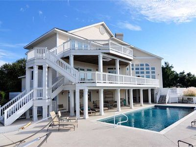 Photo for The Player: Private pool, hot tub and elevator awaits you in this beautiful home!